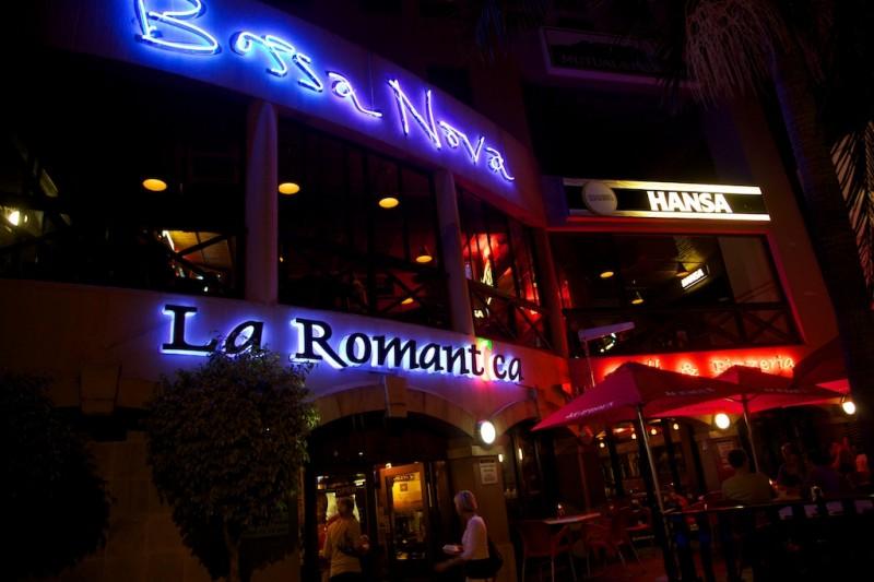 Cafe Bar Bossa Menu
